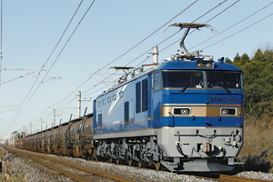 常磐線の貨物列車